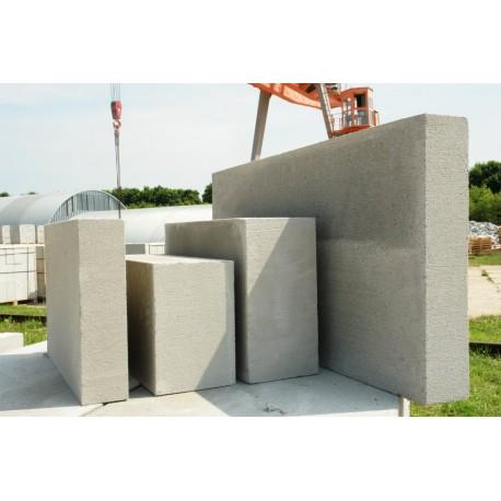 Блок перегородочный газобетонный