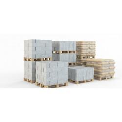 Блок стеновой газобетонный
