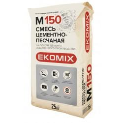 Смесь цементно песчаная М150 Ekomix