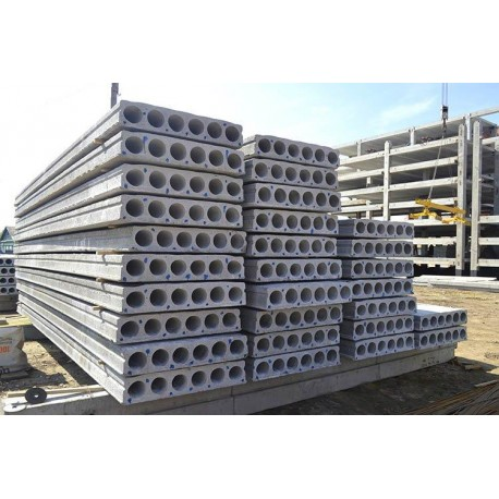 Плита бетонная перекрытия ПК 48-12.8